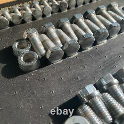 M. Joint # 5001 Chrome Hardware Kit Pour Les Petits Blocs Chevrolet Sbc Boulons Et Rondelles