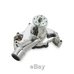 M. Joint Pompe À Eau 7012mrg Chrome Fonte Mécanique Pour Chevy 262-400 Sbc