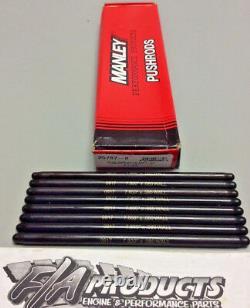 Manley 25787-8 Petit Bloc Chevy 7.800 Long. 080 Mur 3/8 Push Rod Ensemble De 8
