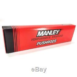 Manley Poussez Rod Set 25734-16 Chromoly. 080 Mur 5/16 7,250 Pour Chevy Sbc