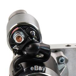 Mini Starter Petit Pour Chevy Sbc Bbc 305 350 Chrome 3hp High Torque Noir