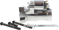 New Sbc Bbc Small & Big Block Chevy Chrome Réducteur De Démarrage 305 350 454