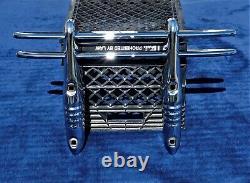 Nos 30's 40's Car Truck 2 Bar Chrome Grill Bumper Guard Cheve Ford Dodge Nice