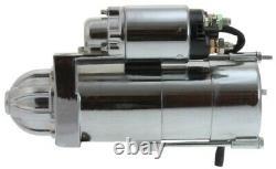 Nouveau Couple Élevé Chrome Starter Sbc Bbc 305 350 454 Gmc Chevy Staggered Bolt