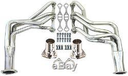 Nouveaux Colliers À Tube Long Chevy 1964-1989, Chromés, Sbc, Impala, Bel Air, Camaro