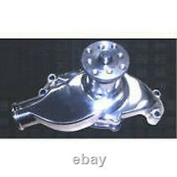 Petit Bloc Chevrolet Chromed Aluminium High Flow Short Water Pump 327 350 400