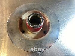 Petit Bloc Chevy 7.25 Sbc 283 327 350 Amortisseur Chrome