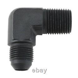 Petit Bloc Chevy 80 Gph Mech Pompe / Kit D'alimentation, 4150 Log, 6an, Chrome
