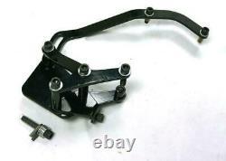 Petit Bloc Chevy Black Ac Bracket Avec Chrome V-belt Compresseur Short Pump Ps