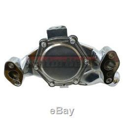 Petit Bloc Chevy Chrome Petite Pompe À Eau En Aluminium Sbc Volume Élevé 283 350 327 S