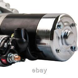 Petit Bloc Mini Starter 3hp Pour Chevy Chrome 153 Ou 168 Dent 327 350 400 Sbc