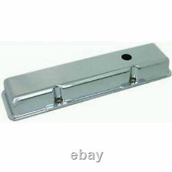 Petit Bloc Valve Couvre Chrome Aluminium Sb Chevy 1958-85 350