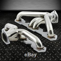 Pour 55-57 Sbc Small Block V8 Hugger 265/283 Tri-5 Collecteur D'échappement Shorty En-tête