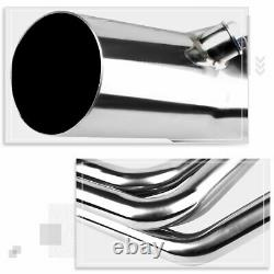 Pour 67-74 Chevy Sbc Small Block V8 Ls1-ls6 Lsx S. Steel Long Tube Exhaust Header