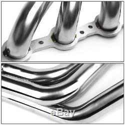 Pour 67-74 Sbc V8 Ls / Ls1-ls6 Lsx Swap Inoxydable Long Tube Tête Du Collecteur D'échappement