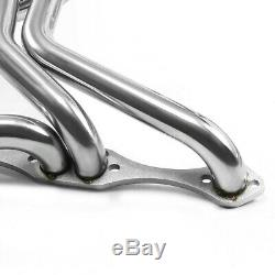 Pour 70-87 Chevy Sbc 267-400 V8 En Acier Inoxydable Long Tube En-tête Du Collecteur D'échappement