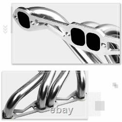 Pour 82-92 Chevy Camaro Sbc 5.0/5.7 S. S Long Tube Exhaust Header Manifold+y-pipe