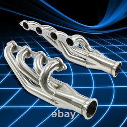 Pour 97-14 Chevy Gm Sbc Small Block Ls1/ls2/ls3/ls6 V8 Header Manifold Exhaust