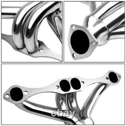 Pour Chevy Small Block Sbc 283 305 327 350 400 S. Stell Exhaust Header Manifold
