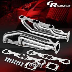 Pour Collecteur De Chargeur Twin Turbo Racing Racing Chevrolet Sbc 283/327/350/400 Inox
