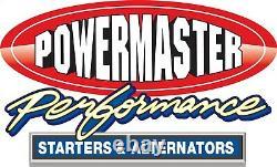 Powermaster 770 Chrome Bracket À Faible Montage Petit Bloc Chevy Pour Pn 8132/8142/8152