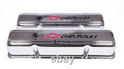 Proform 141-905 Steel Tall Valve Covers Fits Small Block Chevy Engines