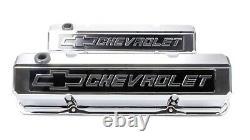 Proform Aluminium Tall Valve Couvre Petit Bloc Chevy P/n 141-922
