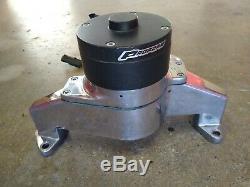 Proform Pompe À Eau 66225c 35 Gpm Chrome Aluminium Électrique Pour Chevy 262-400 Sbc
