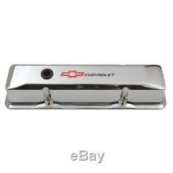 Proform Valve Cover Set 141-117 Gm Performance Aluminium Chrome Pour Chevy Sbc