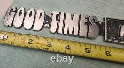 Rare Good Times Van Président Emblem Boogie Street Van Dodge Ford Chevy Disco