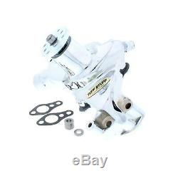 Roi Chrome Small Block Chevy 1969-1986 Pompe Long Water