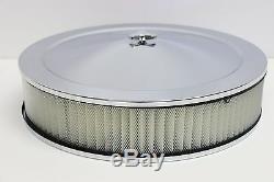 Sb Chevy Chrome Motor Verkleidung Set Hoch Ventil Bezüge Luft Reiniger 58-79 Sbc
