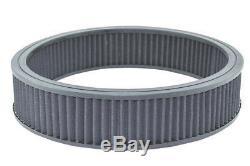 Sb Chevy Court Chrome Valve Kit De Protection / W Air Cleaner 350 1959 86 283 Sbc