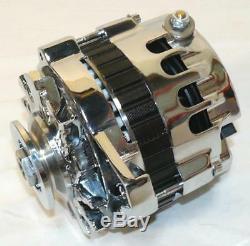 Sbc Bbc Alternateur 110 A À 1 Fil, Chrome, Style Cs-130, Pontiac Olds Chevy, Gm
