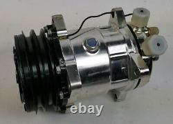 Sbc Chevy Chevy Chrome Pompe À Eau Longue Pompe À Eau D'alimentation Compresseur D'alternateur