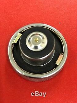 Sbc Chevy Ford Bouchon De Radiateur 16 Lb Universel Chrome Gravé Aluminium Billette