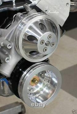 Sbc Chevy Turn Key Engine Dress Up Kit, Avant Acc. Inc. Wp, Alt, Poulies, Etc