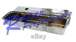 Sbc Chrome 383 Logo Engine Dress Up Kit Valve Cover Smallblock Chevy Filtre À Air