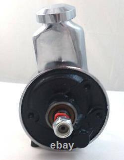 Sbc Et Bbc Chevy Way Chrome Key Style De Saginaw Direction Assistée Pompe 283 350 454