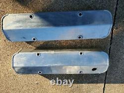 Sbc Fabriqué Chrome Revêtement Valve En Aluminium 283 305 327 350 400 Petit Bloc Chevy