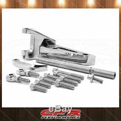Sbc Petit Bloc Sb Convient Chevy Billettes D'aluminium Alternateur Support (swp) Chrome