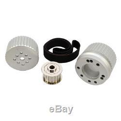 Sbc Small Block Chevy Billet Aluminium Kit Poulie Poulie Poulie 305 350 400