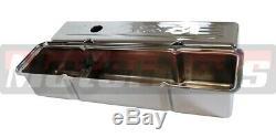 Small Block Chevy Chrome 383 Robe Logo Up Kit Valve Lavable Filtre À Air