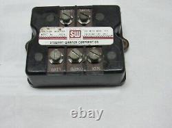 Stewart Warner 990b, 1960's, Moniteur D'allumage Vintage Hot Rod Rat Rod Gasser