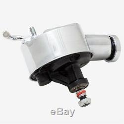 Support De Poulie Double Courroie Chroma Pompe De Direction Assistée Chevy Saginaw P Pump 327 350