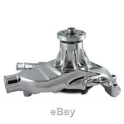 Tuff Stuff Pompe À Eau 1635ng Mécanique En Aluminium Chrome Pour Chevy 262-400 Sbc