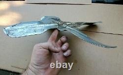 Vendu Chrome Gm Pompe À Eau 4 Blade Fan Chevy 32 Ford Trog 283 327 Sbc Hot Rod Rat