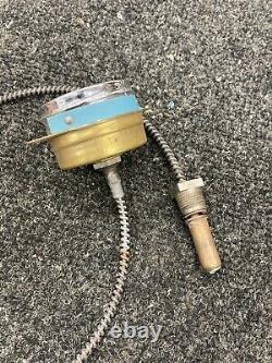 Vieille Température Industrielle Gauge Hot Rat Rod Scta Flathead Ford Tracteur