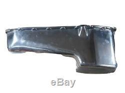 Vintage Cal-custom Sbc Carter Main Gauche Bâton Creux Petit Bloc En Aluminium À Ailettes