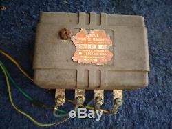 Vintage Chrome Sun RPM Tachymètre & Oe Transmetteur 1960-1963 Chevy Truck Hot Rod